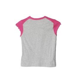 994078f82a121 Camiseta Yg Ess Logo Mescla Adidas - Compre Agora
