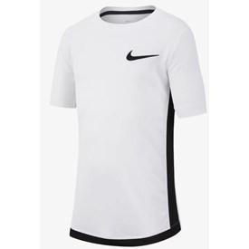 Camiseta Nike Dri-FIT Infantil Branca