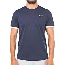 Camiseta Nike Dry Top SS Azul marinho