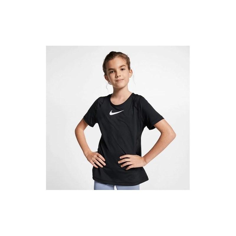 Camiseta Nike Infantil Feminino Preto