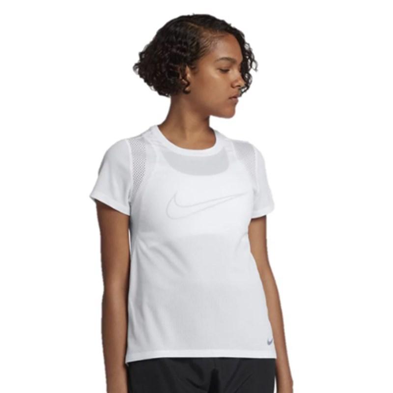 Camiseta Nike Run Top Feminino Branco