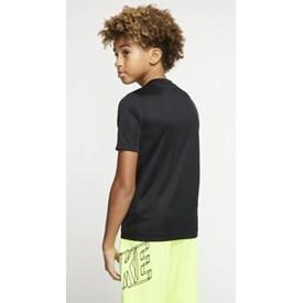 Camiseta Nike Trophy Infantil Preto
