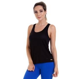 Camiseta Regata Best Fit Quadrada Dry Preta