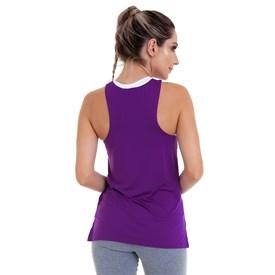 Camiseta Regata Best Fit Quadrada Dry Roxa