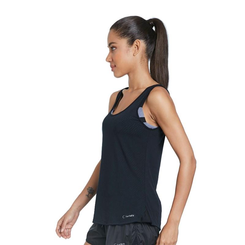 Camiseta Regata La Clofit Air Preta