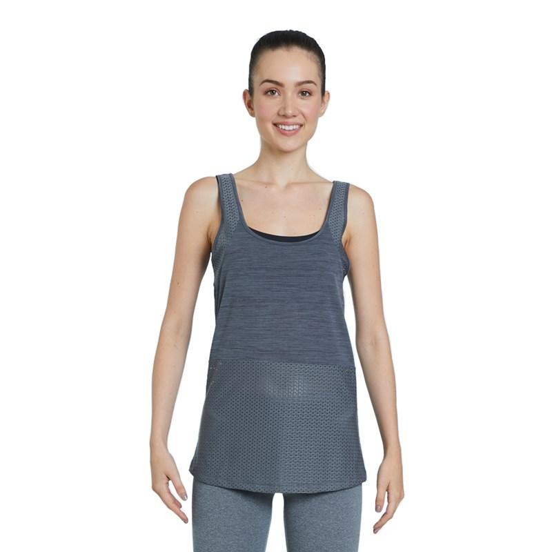 Camiseta Regata La Clofit Basic Cinza