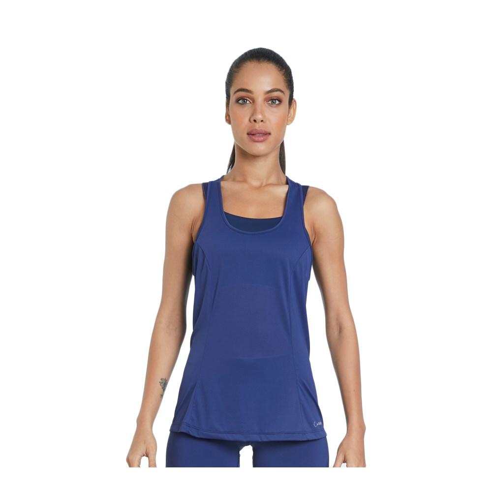 Camiseta Regata La Clofit Free Azul Marinho