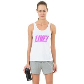 Camiseta Regata Live Glow Future Branca