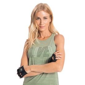 Camiseta Regata Live Impulse Verde