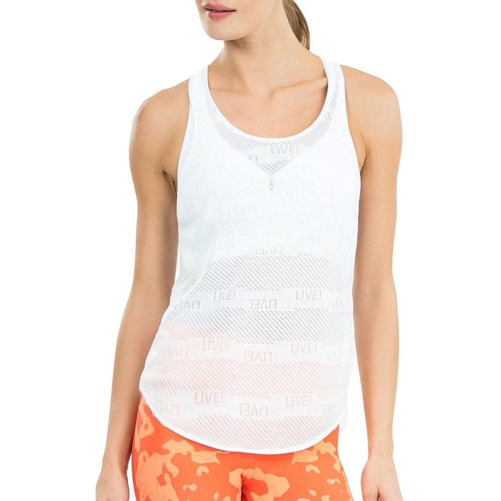 Camiseta Regata Live Optical Branca