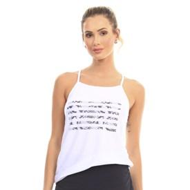 Camiseta Regata Manly Branca