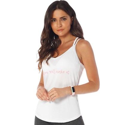 Camiseta Regata Manly Branco