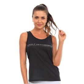 Camiseta Regata Manly Dry Preta