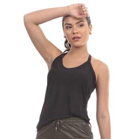 Camiseta Regata Manly Olympia Preta