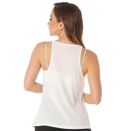Camiseta Regata Manly Run Branca