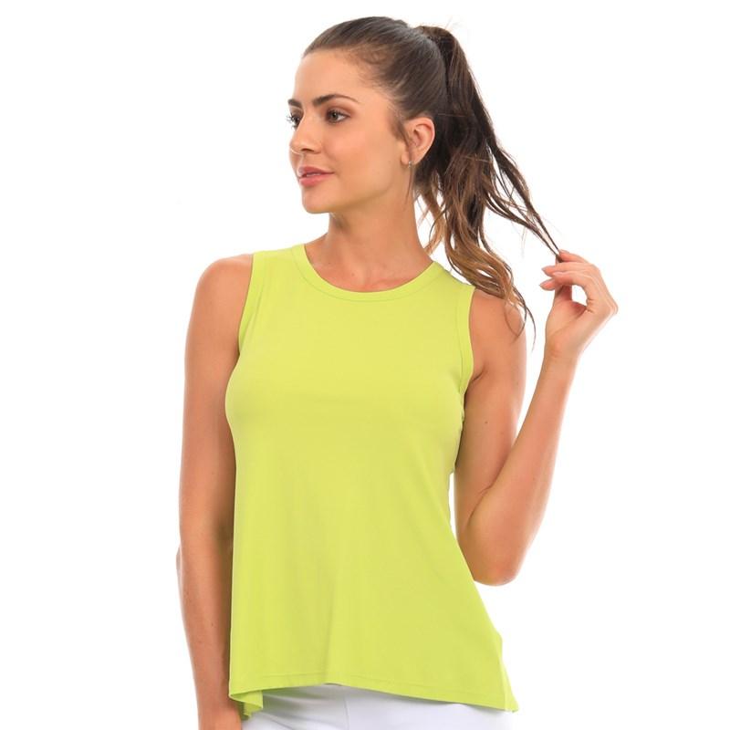 Camiseta Regata Manly Verde Neon