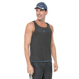Camiseta Regata Speedo Core Cinza