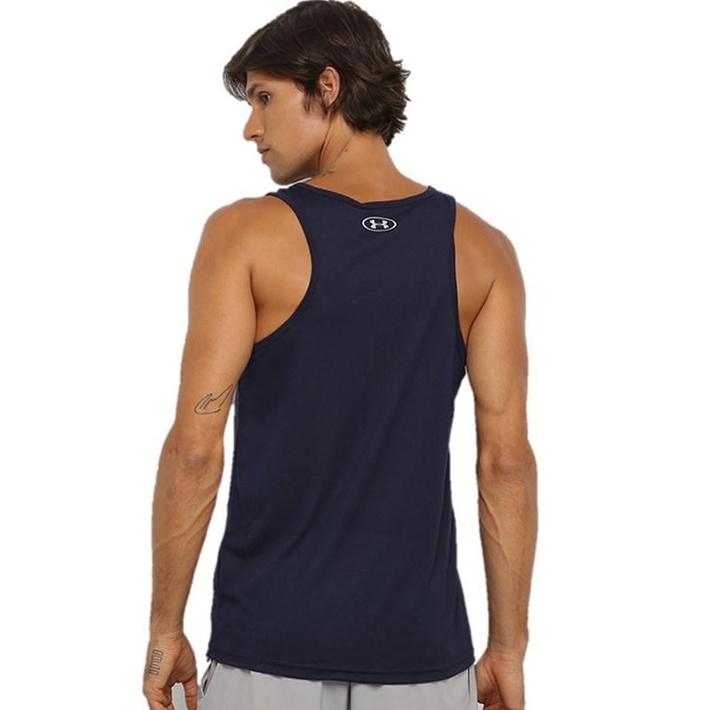 Camiseta Regata Under Armour Streaker 1.0 Azul Marinho