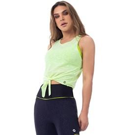 Camiseta Regata  Vestem Fluor Verde Limao
