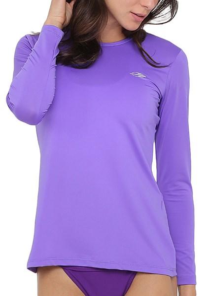 8489b3884 Camisa Manga Longa UV Roxa Mormaii - Compre Agora