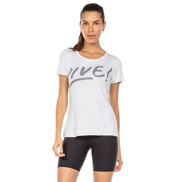 Camiseta Signature Live Branco