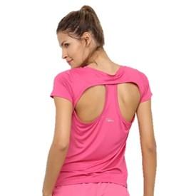 Camiseta Speedo Jacquard Club Rosa