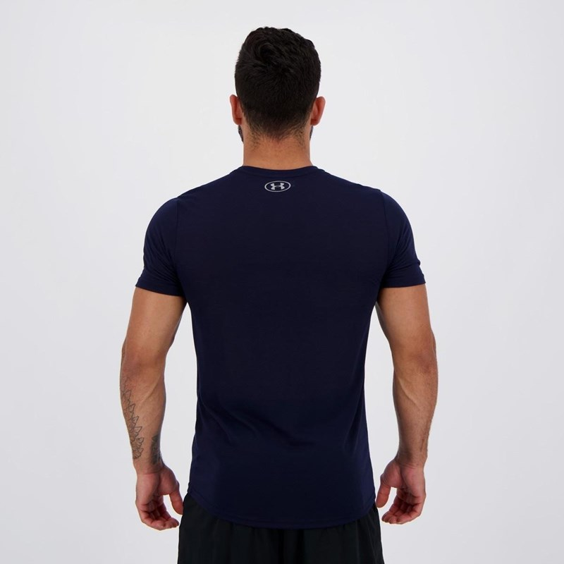 Camiseta Under Armour Streaker 1.0 Azul Marinho