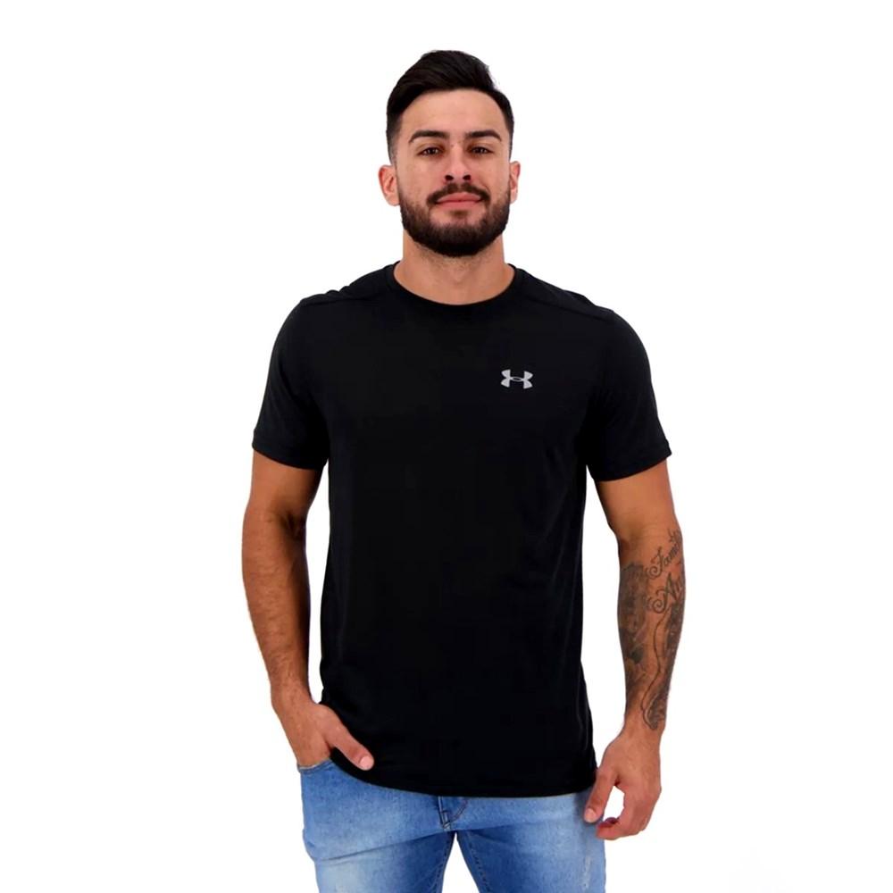 Camiseta Under Armour Streaker 1.0 Preta