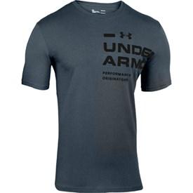 Camiseta Under Armour TSH Cotton Chumbo