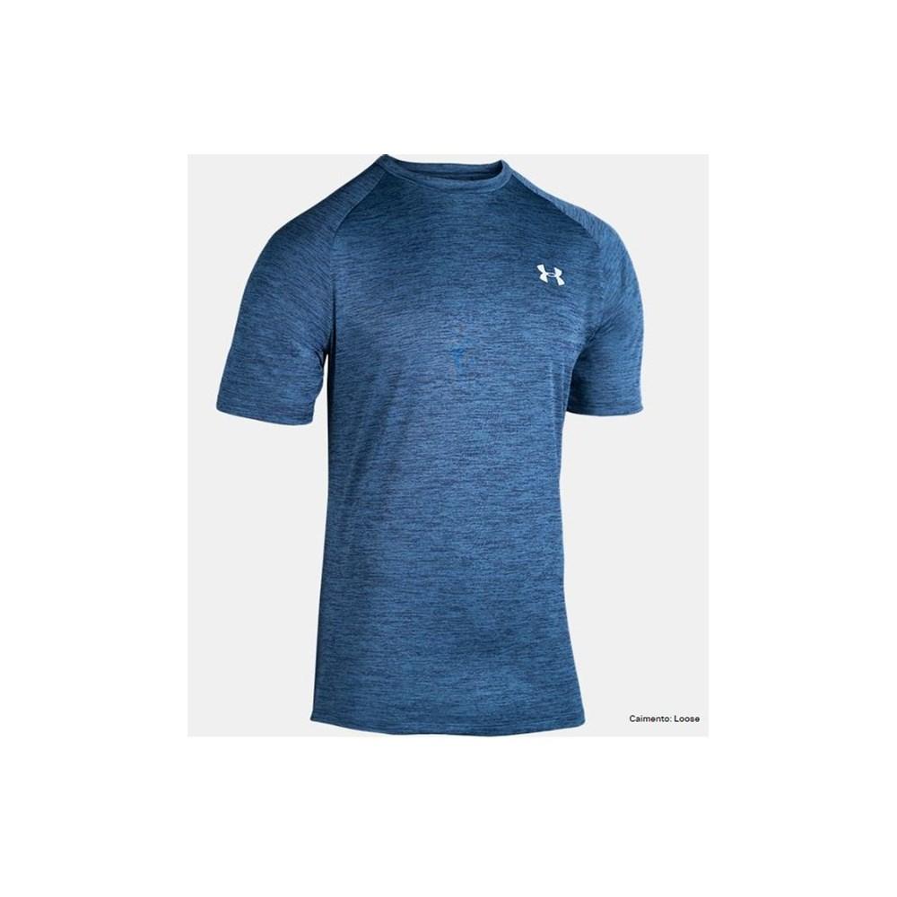 Camiseta Under Armour TSH Twist Tech2 Azul Marinho
