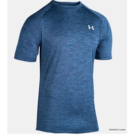Camiseta Under Armour TSH Twist Tech2 Azul Marinho