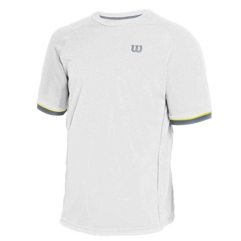 Camiseta Wilson Tour Branca