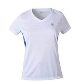 Camiseta Wilson Tour Feminino Branco