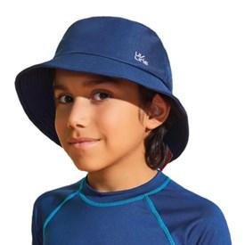 Chapeu Uv Line Basic Kids azul Marinho