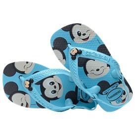 Chinelo Havaianas Baby Disney Classic Mickey Azul