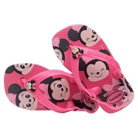 Chinelo Havaianas Baby Disney Classic Minnie Rosa