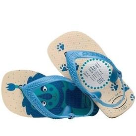 Chinelo Havaianas Baby Pets Azul