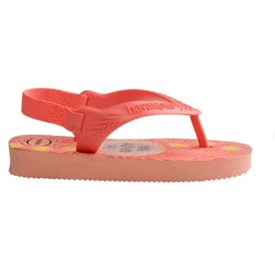 Chinelo Havaianas Baby Pets Coral