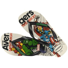 Chinelo Havaianas Infantil Marvel Avengers