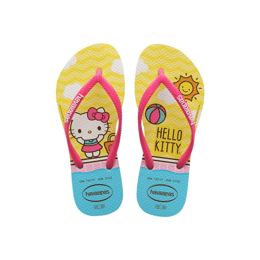 Chinelo Havaianas Infantil Slim Kello Kitty