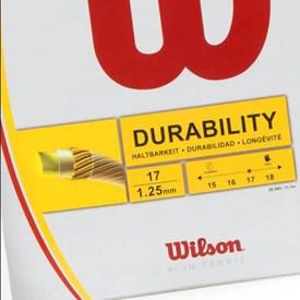 Corda Wilson Stamina 17L 1,25mm Branca-set individual