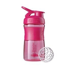 GARRAFA SPORT MIXER 500 ML ROSA BLENDER BOTTLE