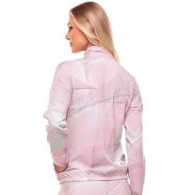 Jaqueta Extreme Vestem Denim Abstrato Estampada