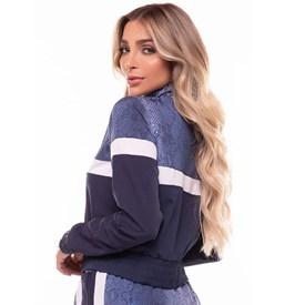 Jaqueta Hollywood Vestem Cobra Azul