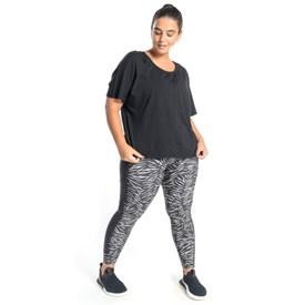 Legging Feminina Live Reset Plus Size Preta