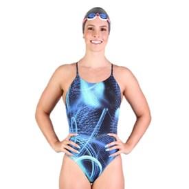 Maiô Fabiola Molina Comfort Shape Azul marinho