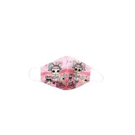 Máscara de Proteção Raros Lol Infantil Rosa