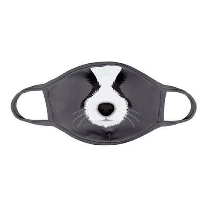 Máscara Infantil Protector Cachorinho Cinza