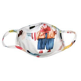 Máscara Infantil Protector Palhacinho