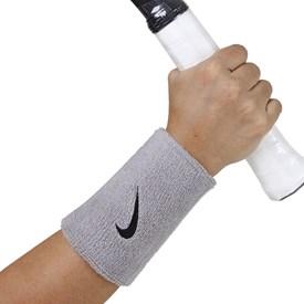 Munhequeira Longa Nike Swoosh Wristband Cinza